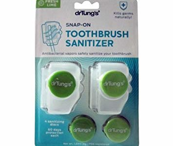 Dr. Tung's Snap-On Toothbrush Sanitizer 2 ea (Pack of 6)Assorted colors Review