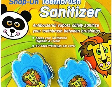Dr. Tung's Kid`s Snap-On Toothbrush Sanitizer 2 ea – Colors May Vary (Pack of 5) Review