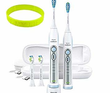 Oral Care 2-Pack Philips Sonicare FlexCare Whitening Edition Rechargeable Toothbrush With UV Sanitizer… Review