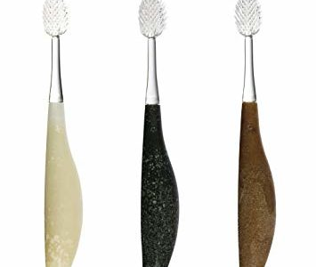 RADIUS Source Recycled Handle Toothbrush, Super Soft Bristles, Assorted Colors, Colors May Vary (Pack of 3) Review