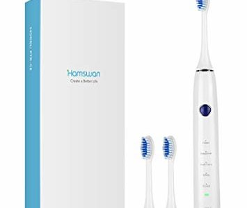 Electric Toothbrush, Clean as Dentist Rechargeable Sonic Toothbrush with Smart Timer, 5 Optional… Review