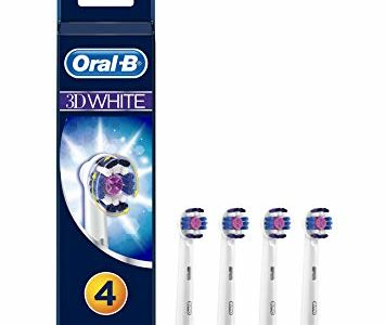 Braun Oral-B EB18-4 3DWhite Replacement Rechargeable Toothbrush Heads 4-Pack Review