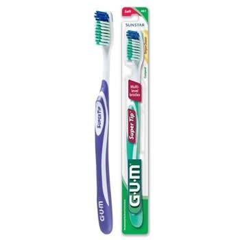 Gum Super Tip 461 Adult Tbrush compact soft 5