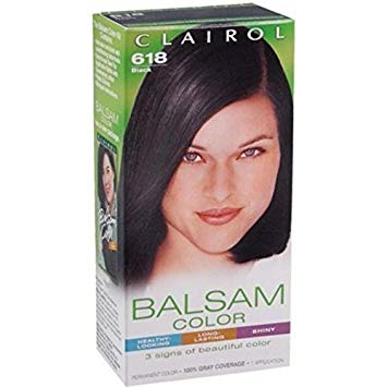 Clairol Balsam Color Black 618 1 ea - Buy Packs and SAVE (Pack of 3)