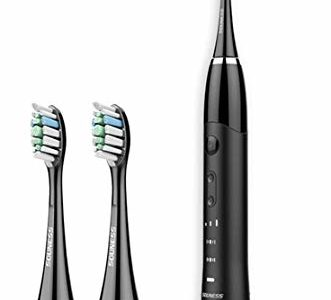 Electric Toothbrush, Gustala Wireless Rechargeable Electric Toothbrushes with2 Replacement Heads, IPX7… Review
