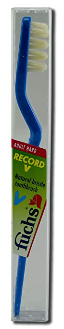 Fuchs - Record V Toothbrush, Hard Pieces 10 per Case
