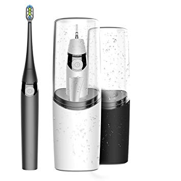 AIJIWU Electric Toothbrush Sonic Rechargeable Travel Toothbrush,USB powered Toothbrush with brushing...
