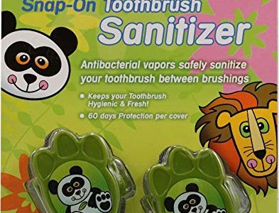 DR. TUNG'S TBRUSH SANITIZER,KIDS, 2 PK Review