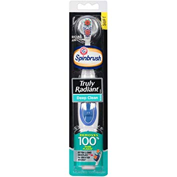Spinbrush Truly Radiant Size 1ct Arm & Hammer Truly Radiant Spinbrush 1ct